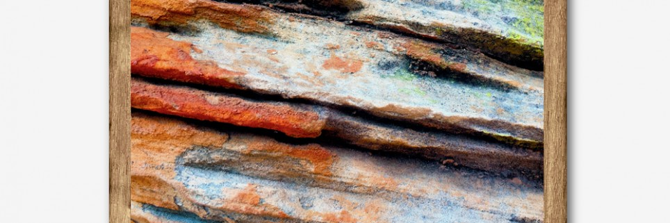 Abstract Rock-faces