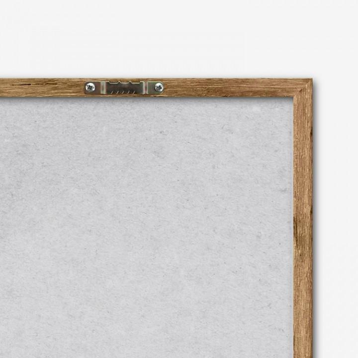 LEFE framed artwork, back hanger