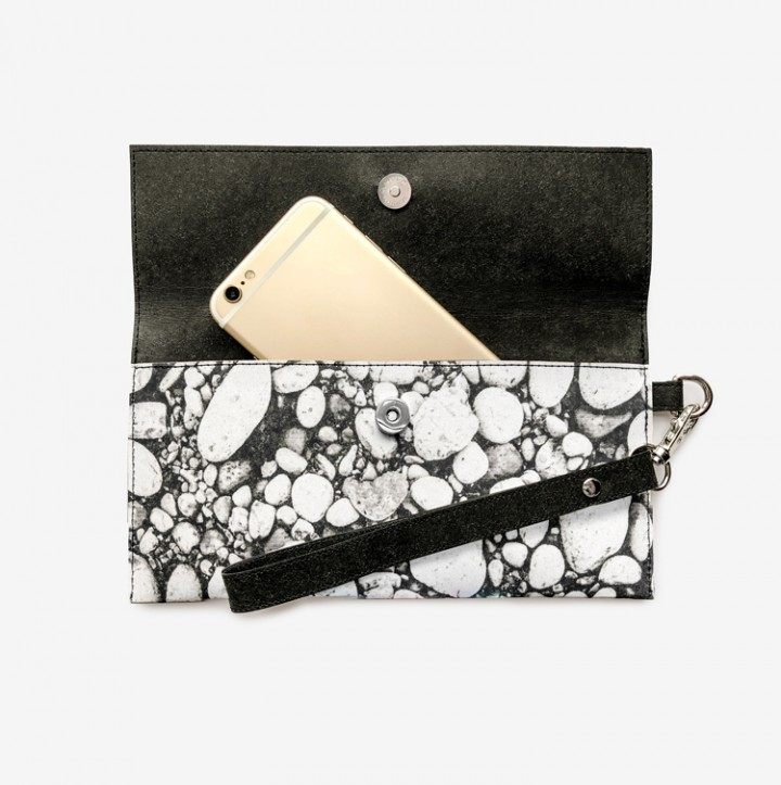Pebble Pattern clutch