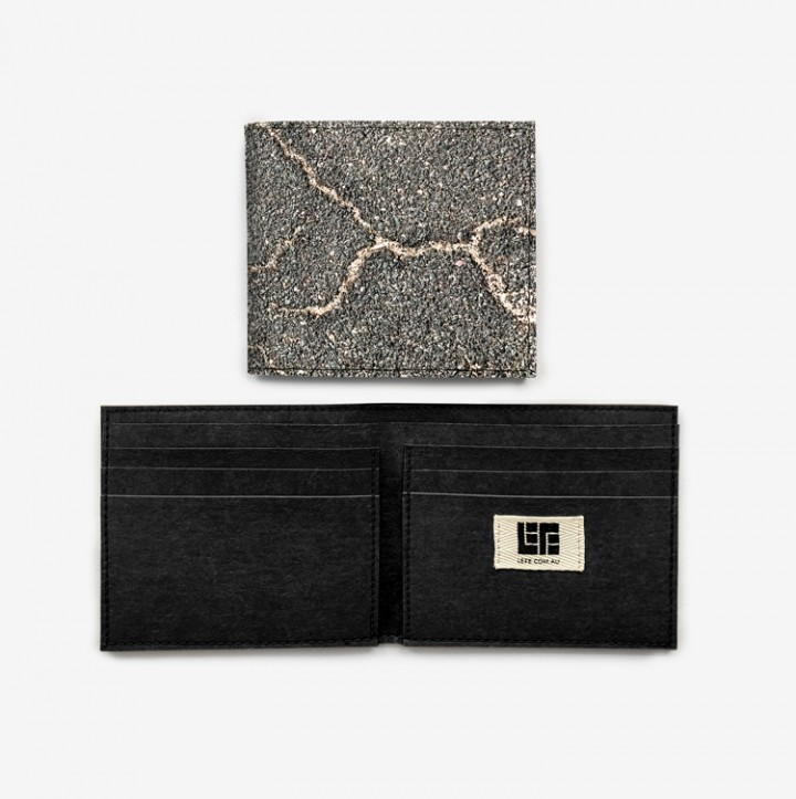 Roads Travelled wallet
