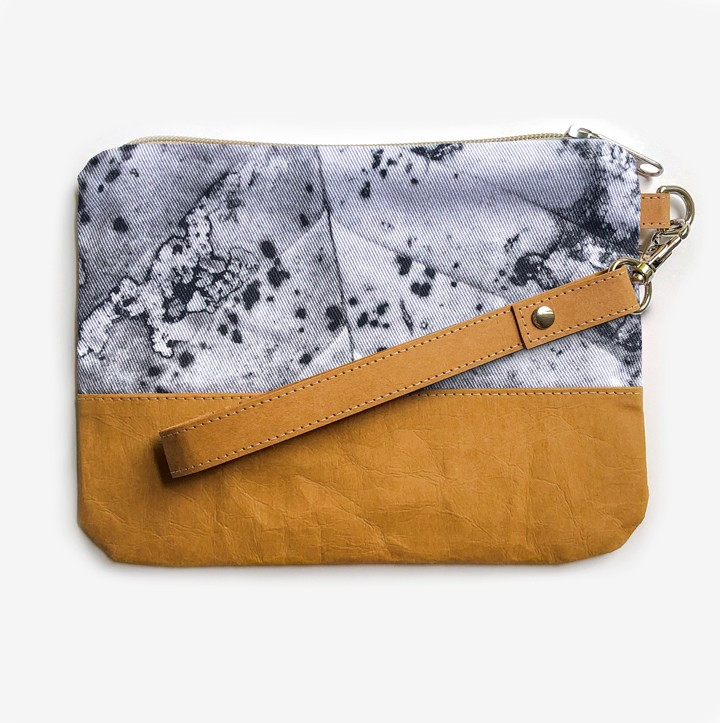 One Leaf's Journey Pouch